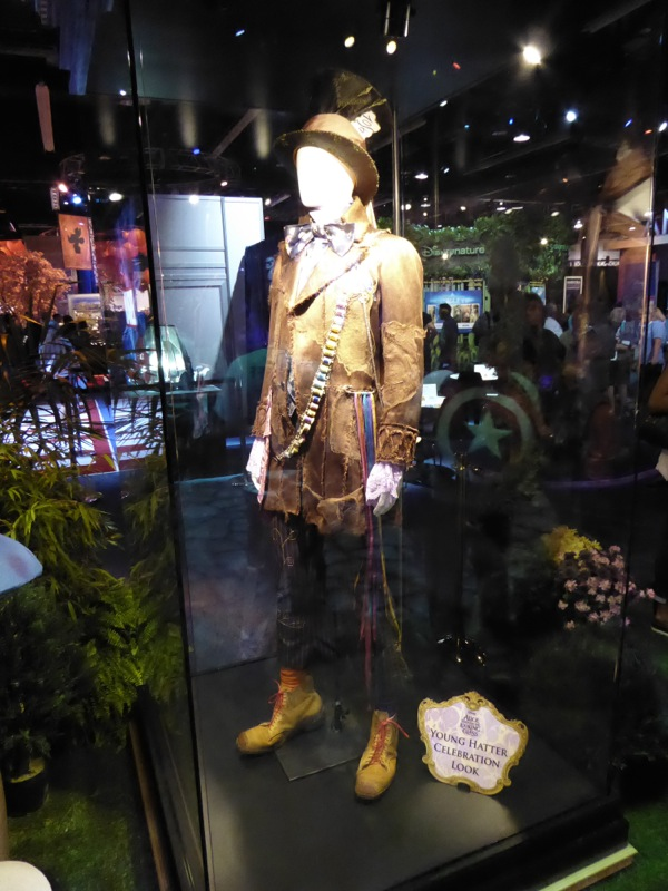 Young Hatter celebration costume Alice Through the Looking Glass