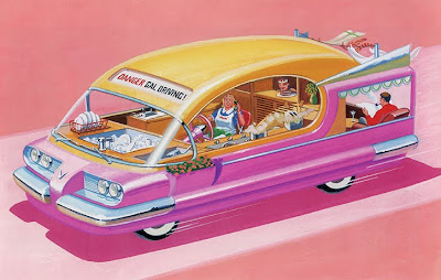 Bruce McCall is a Canadian author and illustrator, best known for his frequent contributions to The New Yorker.