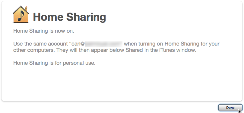 how to create a shared music library on iphone