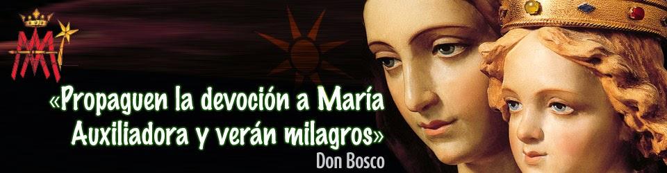 Devoción Virgen María Auxiliadora