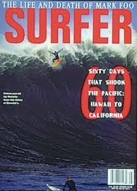 Chasing Mavericks - Jay Moriarty's wipeout on the cover of surfer mag