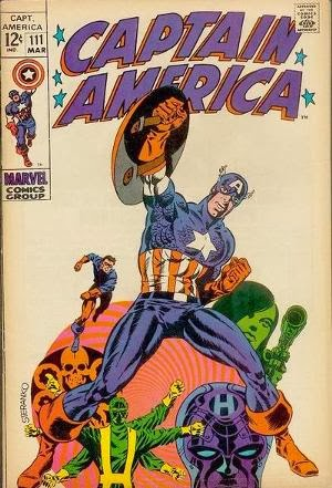 Captain America #111 comic cover
