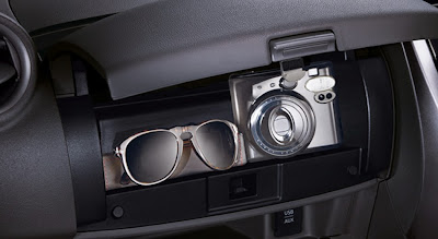 Front Console Upper Glove Box with Lid