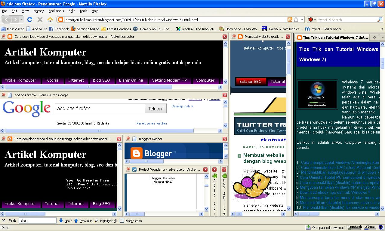 Split Firefox