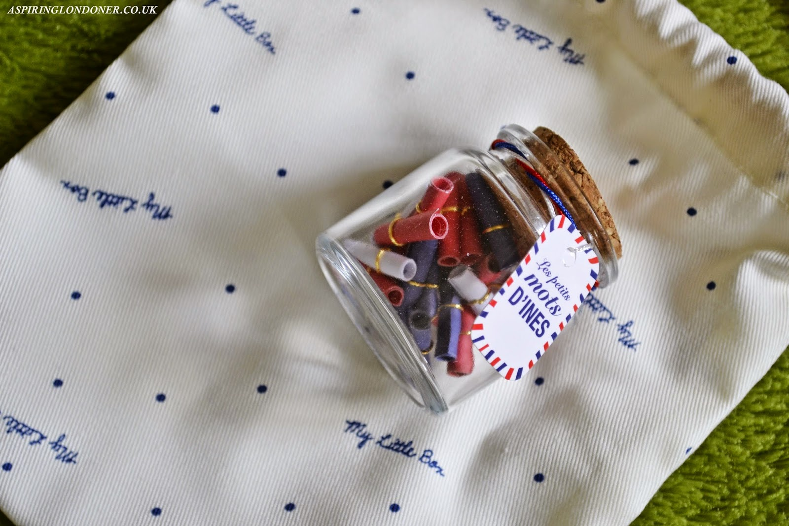 My Little Frenchie Box February 2015 Les Petits Mots D'Ines Review - Aspiring Londoner