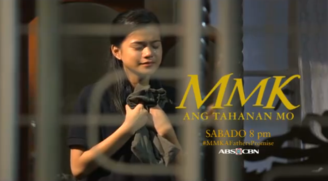 Maris Racal on MMK October 18, 2014 Episode #MMKAFathersPromise (Video)