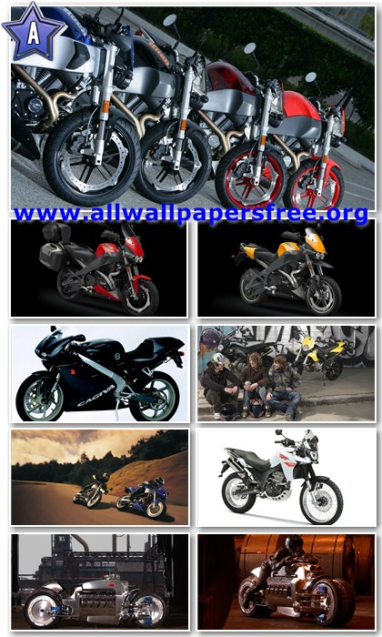 60 Amazing Motorcycles HD Wallpapers 1366 X 768 [Set 4]