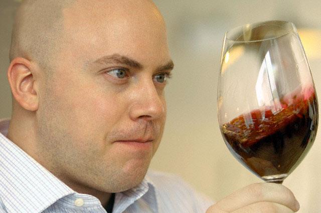 control de calidad, catador de vino