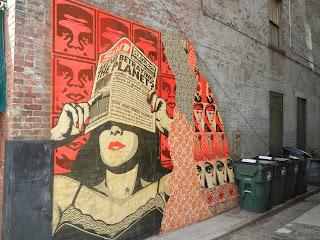 Queen city tour shepard fairey murals for Cincinnatus mural