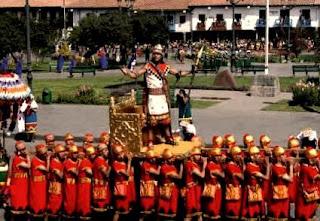 Plaza de Armas de Cusco - Inti Raymi