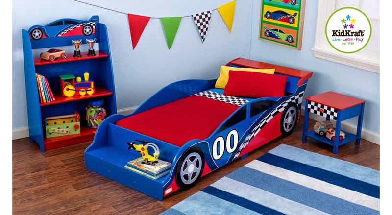 Kidkraft Racecar Toddler Bed 76040
