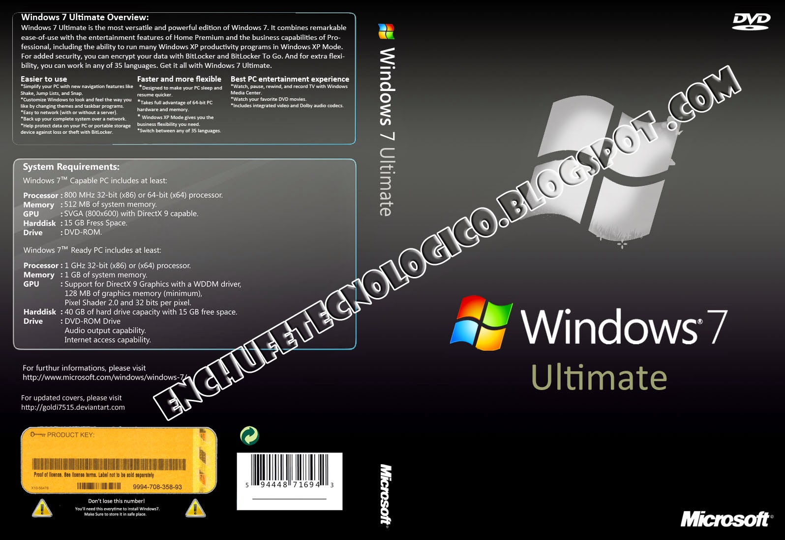 descargar imagen iso de windows 7 ultimate 32 bits