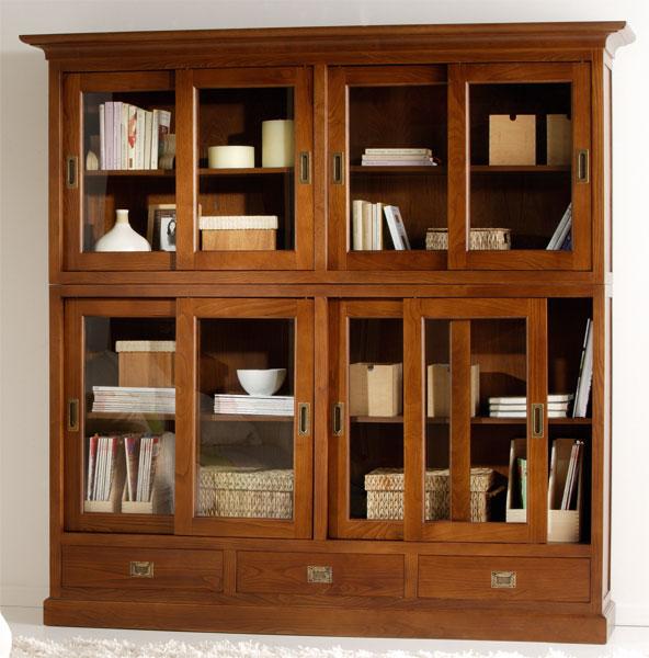 La web de la decoracion y el mueble en la red vitrinas y - Librerias de salon ...