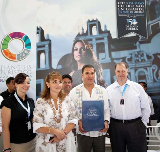 Puebla sede de la edición XXXVIII del Tianguis Turístico