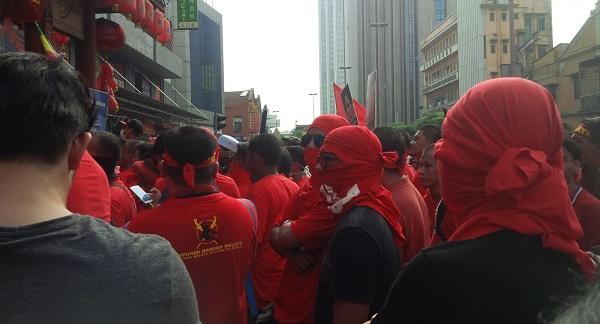 Himpunan Baju Merah di Kuala Lumpur
