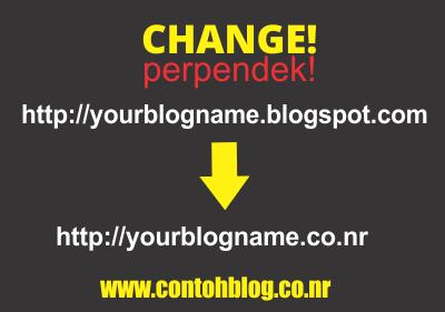 Ganti URL Blog dengan Nama Domain Sendiri (1)