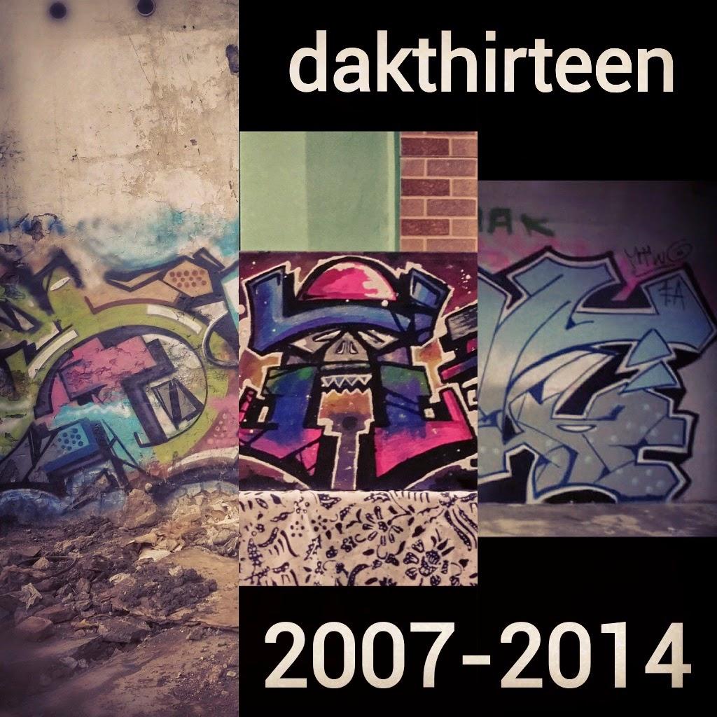 dakthirteen, graffiti, artefakefamilia, tangerang, indonesia, mtwo, fuckinartis
