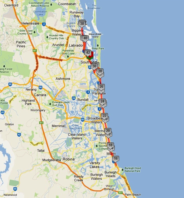 how to get from gold coast airport to murwillumbah