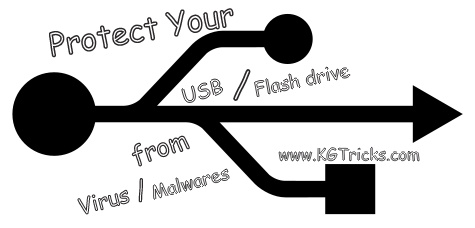 Protect your USB from Virus / Malwares