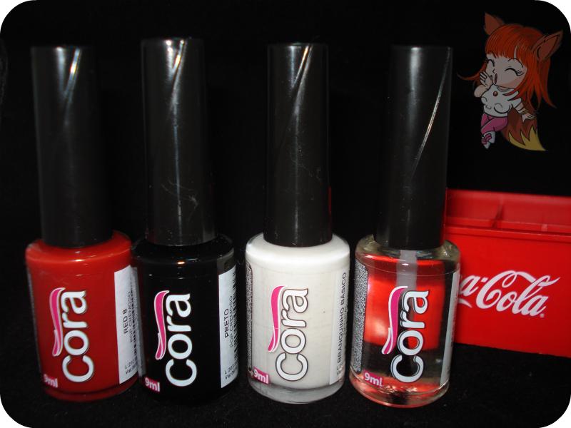 Esmaltes Cora Coca-Cola