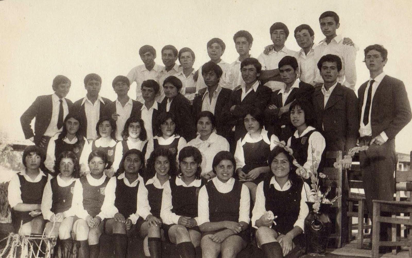 """Promoción """"El Mañío"""" 1973"""