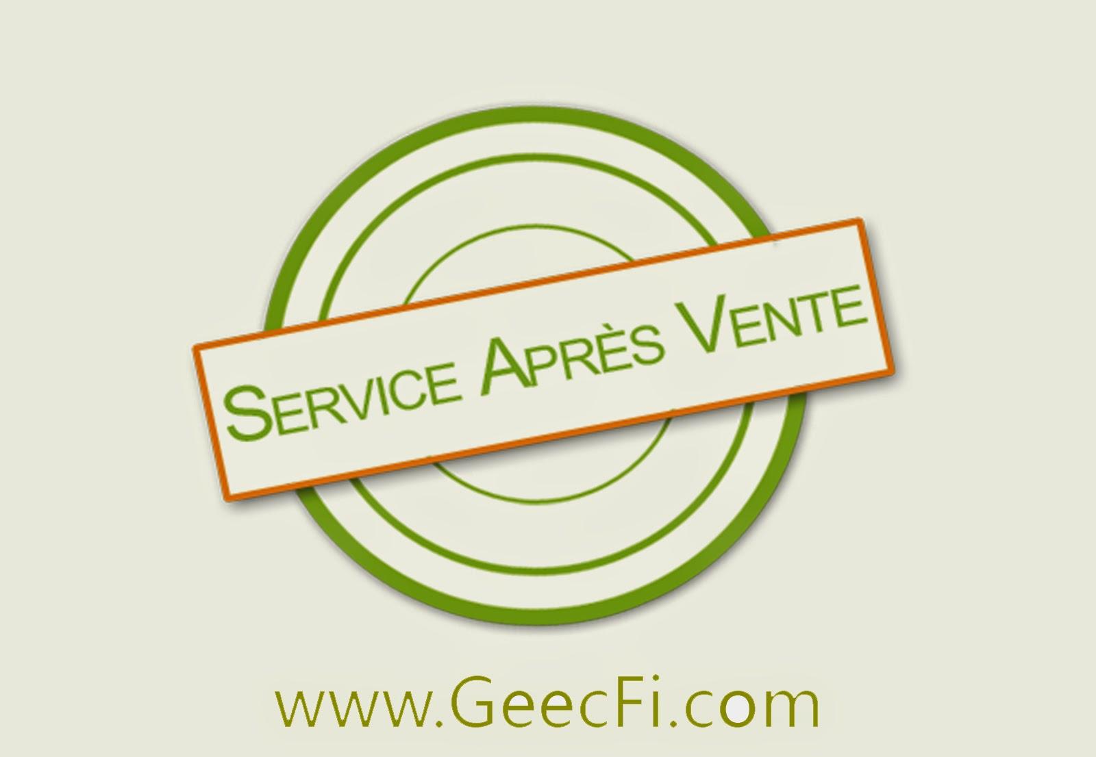 Le service après-vente (SAV)