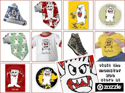 Monster Zoo at Zazzle