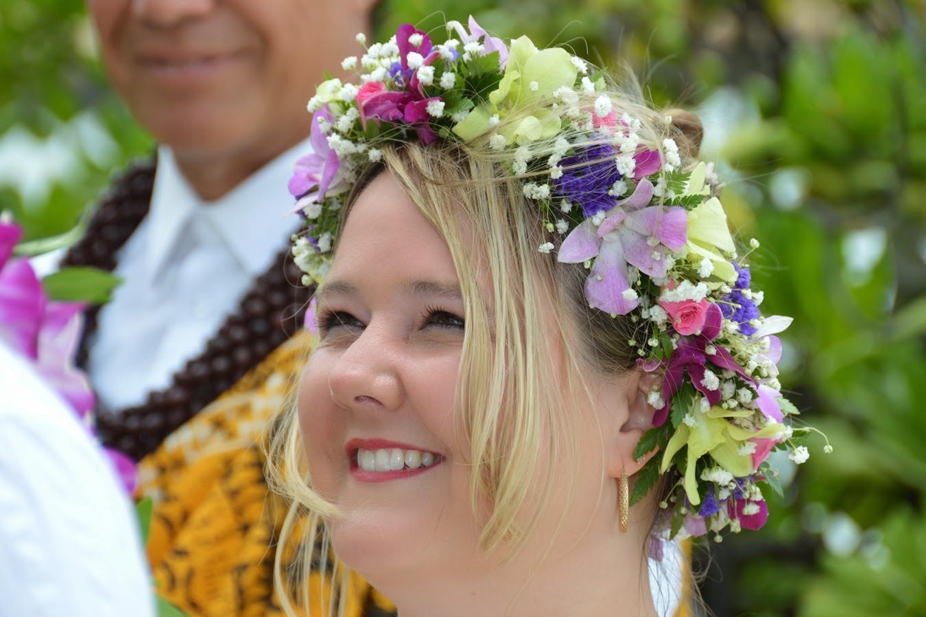 Hawaiian Flower Headband