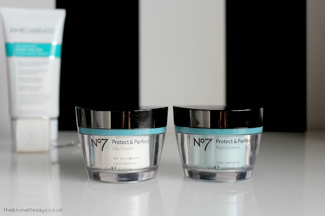 No 7, Boots, day cream, night cream, protect & perfect, skincare