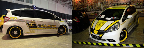 Honda Jazz '09 : Police Style