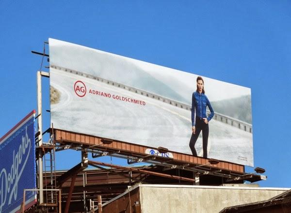 AG Jeans FW 2013 billboard