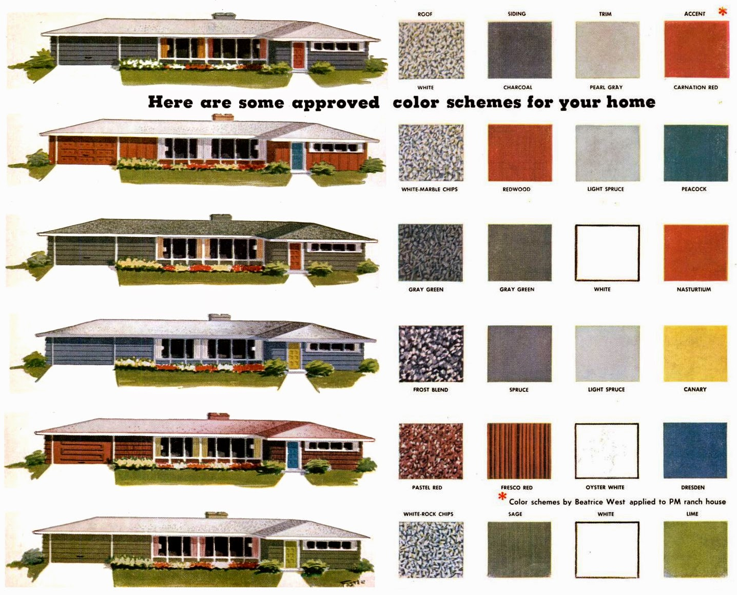 contoh kombinasi warna dinding luar rumah
