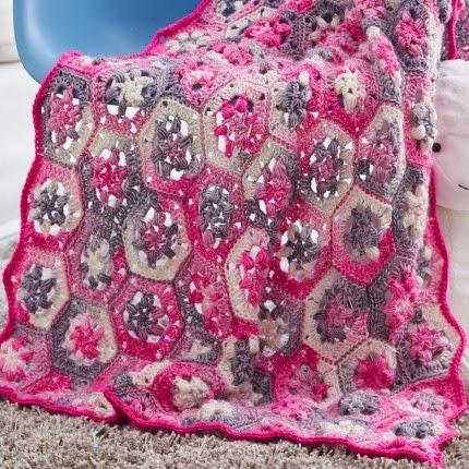 Hexi Baby Blanket - Free Pattern