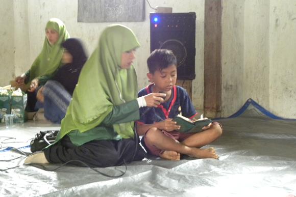 Tilawah Qur'an pada Pembukaan Santunan Dompet Yatim