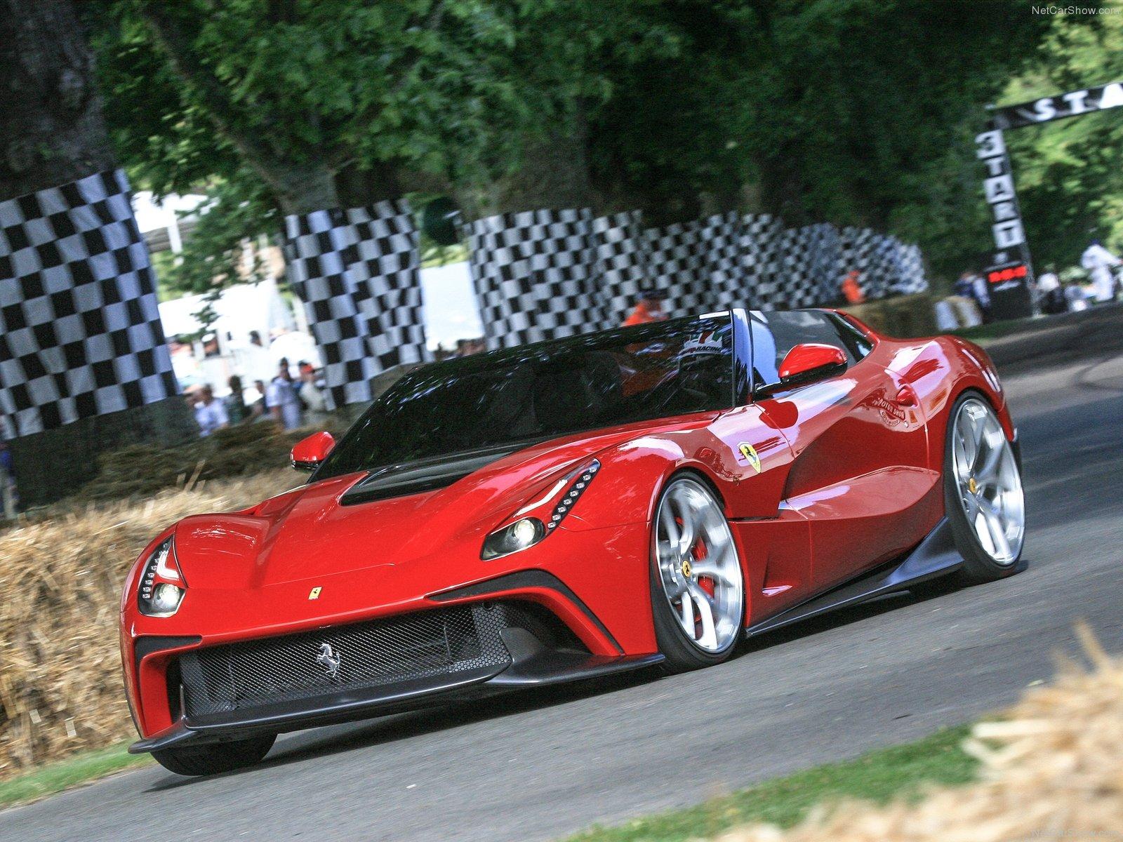 Hình ảnh siêu xe Ferrari F12 TRS 2014 & nội ngoại thất