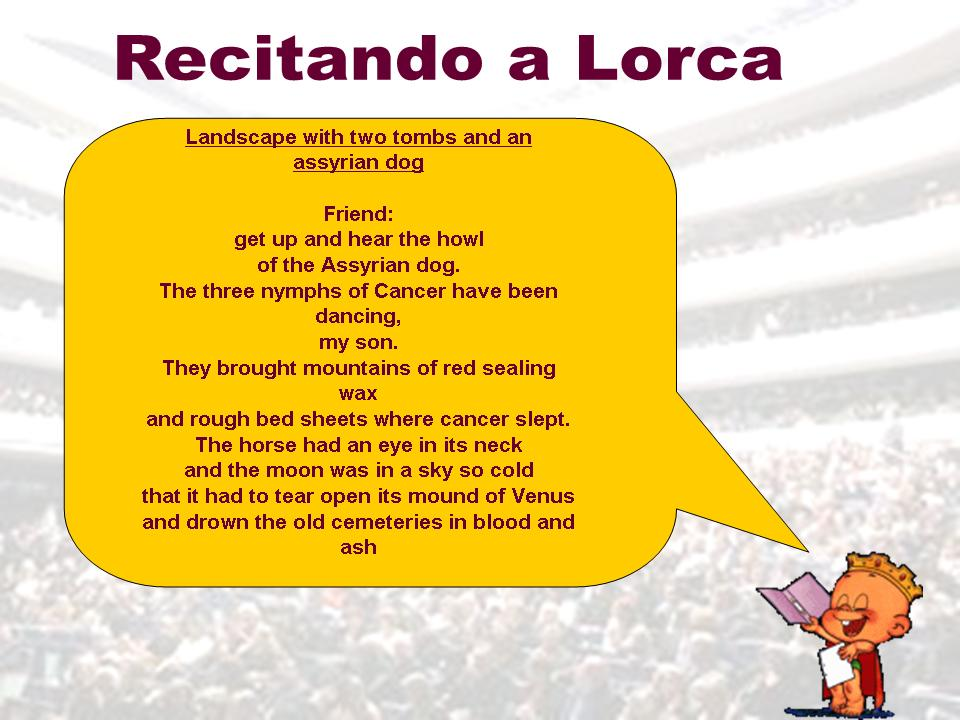 Poema Corto En Ingles