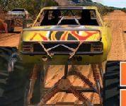 سباق الشاحنات المتوحشة