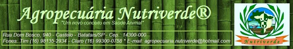 Agropecuária NUTRIVERDE® - Televendas (16) 98135-2934