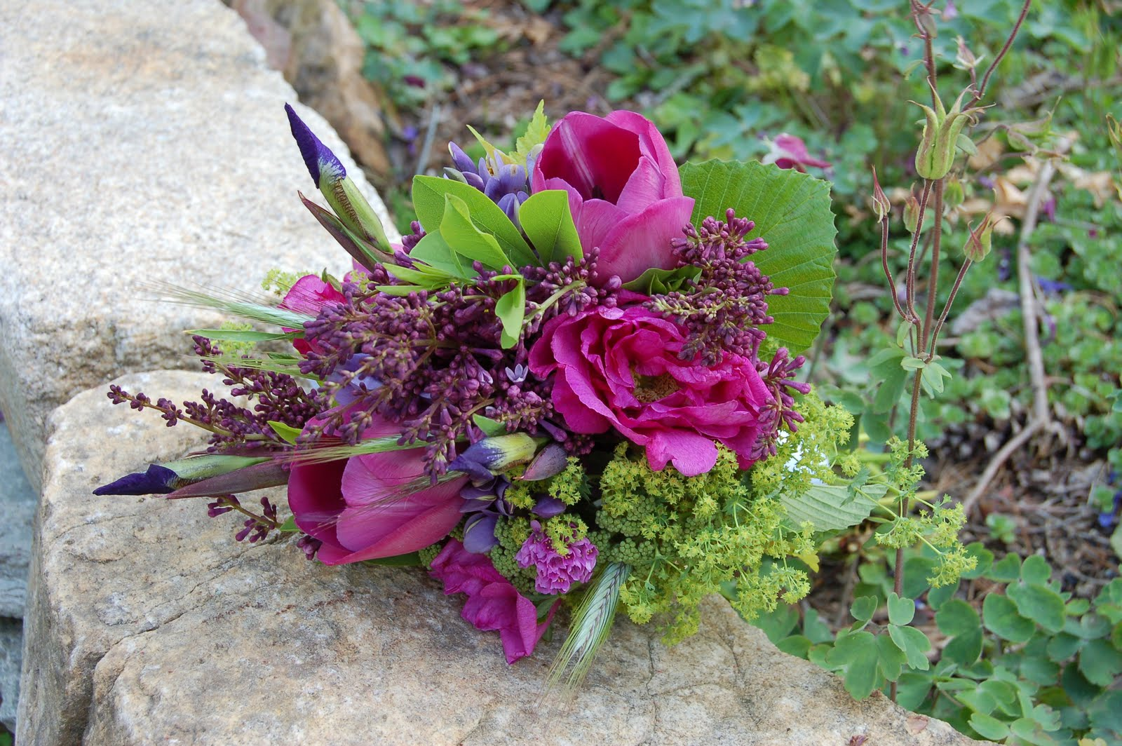 Notes And News From Shady Grove Gardens Floral Trends For Wedding