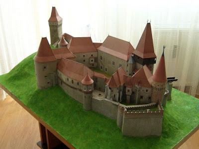Blender Esquizofrênico Huniad Maquette Castelo
