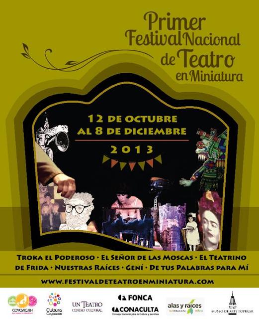 Primer Festival Nacional de Teatro en Miniatura