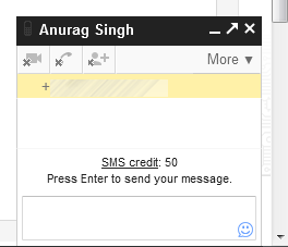 send sms with gmail