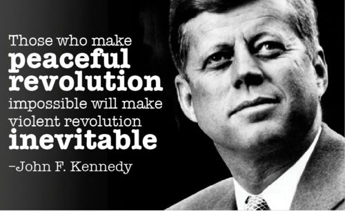 John F Kennedy Quotes About Love : John F. Kennedy