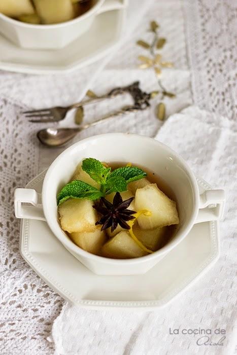 Sopa De Melón A Las Especias