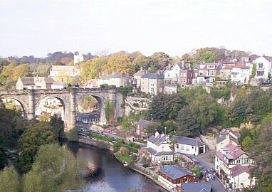 Knaresborough seen from the Castle