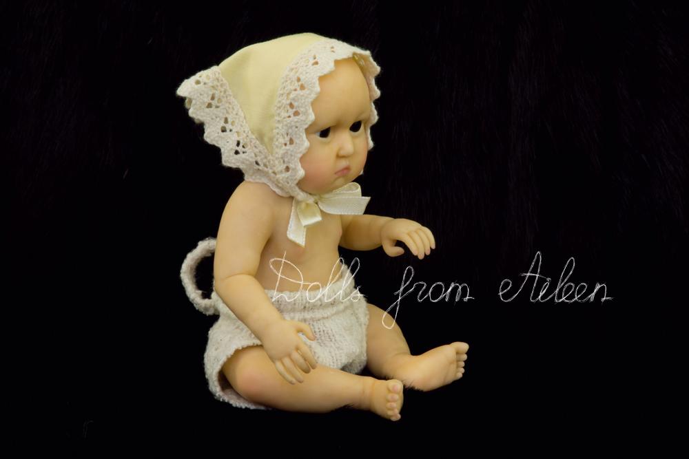 OOAK Hand Sculpted Mini Baby Doll