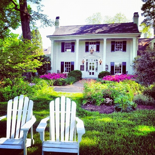 Southern hotel Fearrington House Inn; 10 Destination Photos on Instagram that Make You Want to Travel