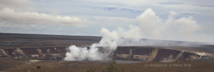 hawaii big island volcano national park kilauea summit crater
