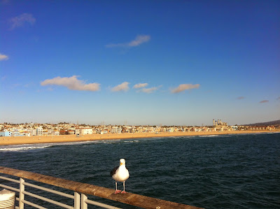 Hermosa Beach - View from the pier