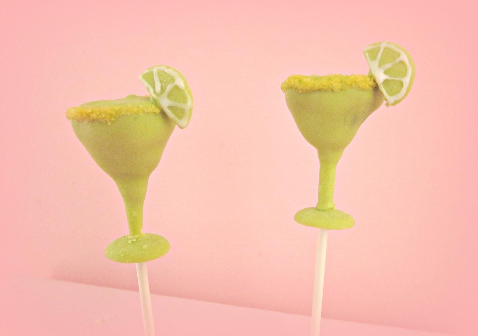 margarita Cake Pops by amberallure cupcakes